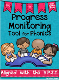 Progress Monitoring Tool for Phonics - Decoding Assessments & Family Activities