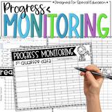 Progress Monitoring Tracking Sheets