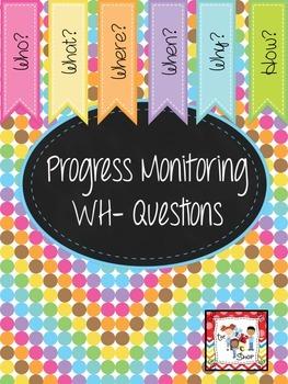 Progress Monitoring WH- Questions