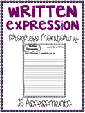 Progress Monitoring Written Expression Assessments {36 Ass
