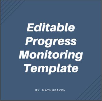 Progress Monitoring (editable)