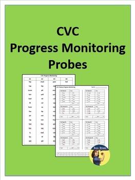 Progress Monitoring for CVC Words