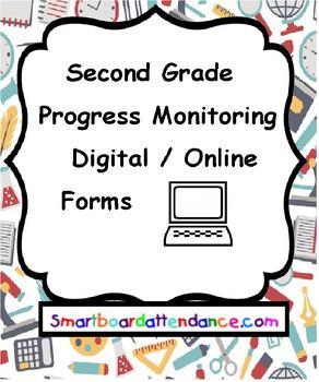 Progress Monitoring for Second Grade using Google Forms