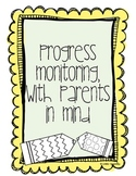 Progress Monitoring, with Parents in Mind