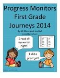 Progress Monitors for First Grade Journeys 2014/2017