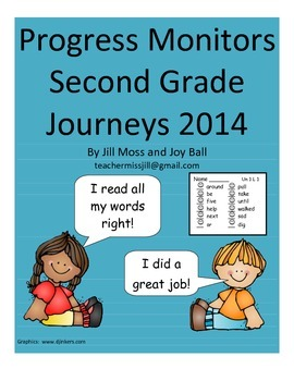 Progress Monitors for Second Grade Journeys 2014/2017
