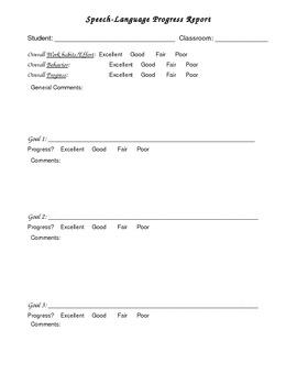 therapist progress notes template