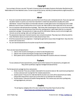Special Education Progress Report Assessment Teacher