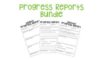 Progress Report Bundle