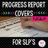 Speech Therapy Progress Note Covers