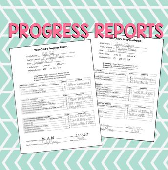 Progress Report (EDITABLE)