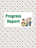 Progress Report - Primary Grades