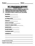 Progress Report (Student Self-Assessment)