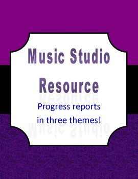 Progress Report for Private Music Lessons