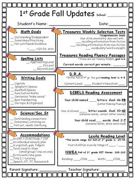 Progress Reports, Class Data, & Student Growth Portfolios (BUNDLE!)