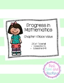 Progress in Mathematics Chapter 1: Place Value Exit Tickets