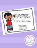 Progress in Mathematics Chapter 1: Place Value Exit Tickets Lessons 1-13