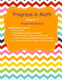 Progress in Mathmatics Chapter One Packet Visual Aids