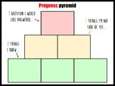 Progress pyramids