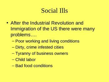 Progressive Era: Notes