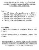 Progression of Numbers & Base Ten Standards- 5.NBT.1