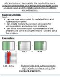 Progression of Numbers & Base Ten Standards- 5.NBT.7 (addi