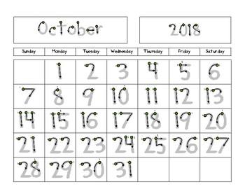 Progressive Calendars for the *2016-2017* School Year