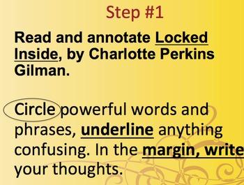 Progressive Close Reading Activity