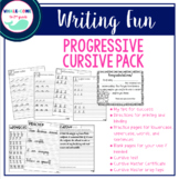 Progressive Cursive Pack