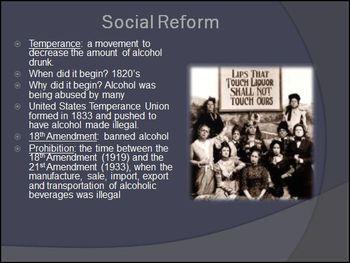 Progressive Era Amendments PowerPoint