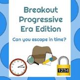 Progressive Era Breakout Escape Room