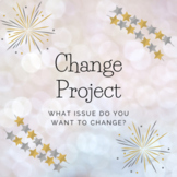 Progressive Era: Change an Issue Project - American History or Social Studies