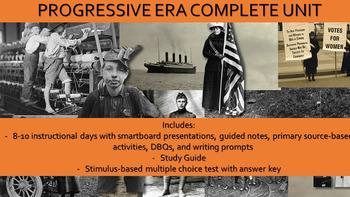 Progressive Era Complete Unit