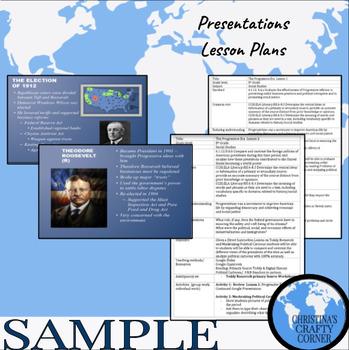 Progressive Era & Expansion (Spanish American War)  UNIT BUNDLE