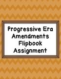 Progressive Era Flipbook Assignment