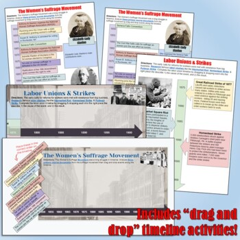 Progressive Era Google Drive Interactive Notebook