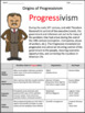 Progressive Era U.S. History: Graphic Organizer & Crash Course Guide (Bundle)