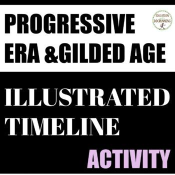 Progressive Era Illustrated Timeline Collaborative Activit
