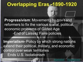 Progressive Era & Imperialism Overlapping Eras: Roosevelt Cartoon Analysis