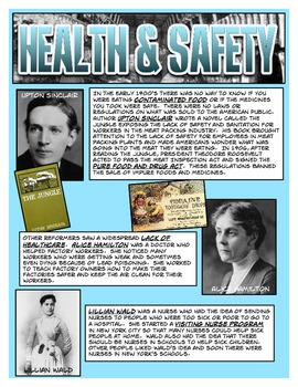 Progressive Era Information Cards