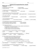 Progressive Era Long Quiz or Short Test
