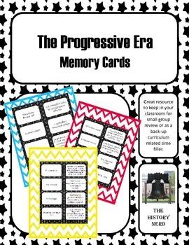 Progressive Era Memory Cards
