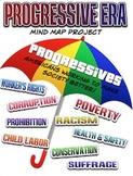 Progressive Era Mind Map Project Pack