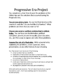 Progressive Era Muckraker Project