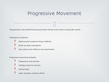 Progressive Era Notes