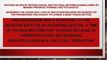Progressive Era PowerPoint - US History