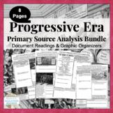 Progressive Era Primary Source Analysis Activity Bundle