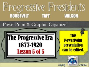Progressive Era: Progressive Presidents