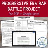 Progressive Era Project: Rap Battle for PDF and Google Drive