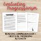 Progressive Era Reading Worksheet